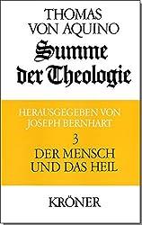 Summe der Theologie, 3 Bde., Bd.3, Der Mensch und das Heil (Kröners Taschenausgaben (KTA))