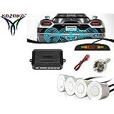 Kozdiko White Reverse Car Parking Sensor For Volkswagen Polo GT