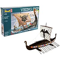 Revell Maqueta Viking Ship, Kit Modello, Escala 1:50 (5403) (05403)