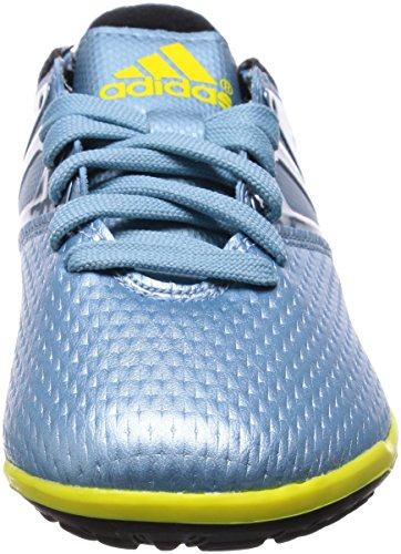 adidas Messi 10.3 Tf, sneaker Garçon bleu (Matt Ice Met.F12/Bright Yellow/Core Black)