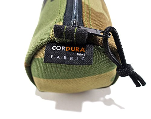 Rough Enough riflettente logo classico Cordura–Astuccio Custodia Black Camo