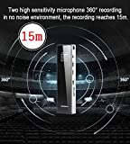 Digital-Voice-RecorderKAYOWINE-1536Kbps-8GB-TF-Card-15M-Recording-Distance-18-Recording-hoursSound-Audio-Recorder-with-headphone-and-OLED-Screen-for-lectures-meetings-interviews