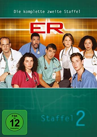 ER - Emergency Room, Staffel 02 [4 DVDs]