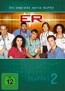 ER - Emergency Room, Staffel 02 [4 DVDs]