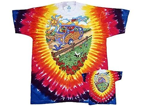 Grateful Dead d'été Tie Dye-T-shirt