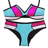 Arrowhunt Damen Neoprene Bunte Bikini Set