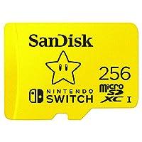 بطاقة مايكرو اس دي اكس سي يو اتش اس - اي لنظام العاب نينتندو سويتش، من سانديسك.