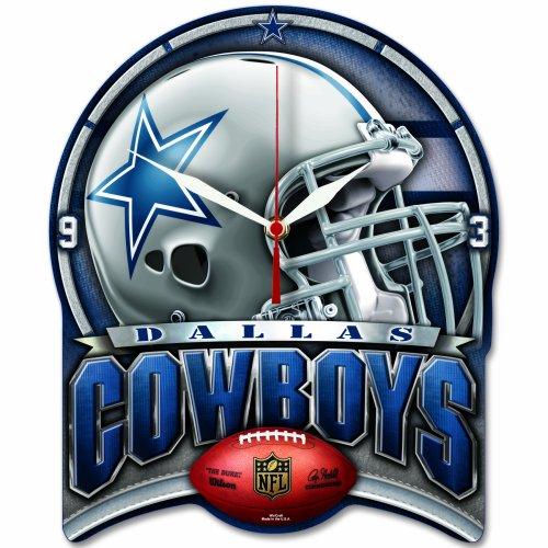 NFL High Def. Wanduhr Dallas Cowboys