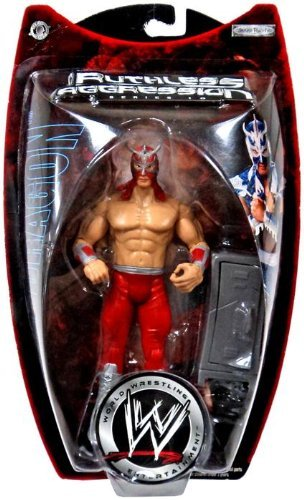 WWE Jakks Pacific Wrestling Action Figure Ruthless Aggression Series 10 Ultimo Dragon by AFLOT-TOY-ULTMODRGN-039897906331-N -