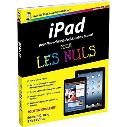 iPad, ed iOS 6 Pour les Nuls
