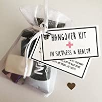 Hangover Kits, Survival Kits, Wedding Favours, Hen do gifts, Hen party Survival kits, wedding survival kits, bridesmaid gifts, party favours