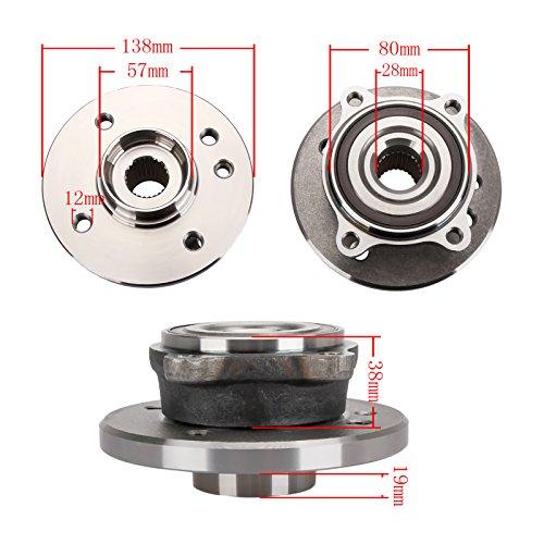Mini Cooper 31226756889 Radlagerwerkzeuge für Vorderradnabe R50 R52 R53