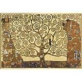 Gustav Klimt Póster con Marco (Plástico) - El Árbol De La Vida (91 x 61cm)