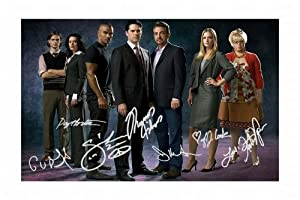 Criminal Minds Signed Autographed 21cm x 29.7cm A4 Photo Poster