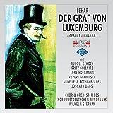 Graf Von Luxemburg: Erster Akt - Ein Scheck Auf Die Englische Bank