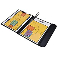ShuGuan Tabla de entrenamiento de baloncesto de doble cara para entrenadores