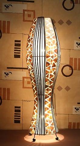 Asiatische Stehleuchten Udon Gold M (LA22-06/GO/M), Stehlampen, Designer Stimmungsleuchten, Bali
