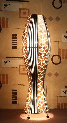 Asiatische Stehleuchten Udon Gold M (LA22-06/GO/M), Stehlampen, Designer Stimmungsleuchten, Bali (Bali 6 Licht)