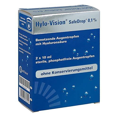 Hylo-Vision SafeDrop 0,1% Augentropfen, 2x10 ml