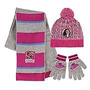 Copriti dal freddo con il set invernale dei tuoi personaggi preferiti. Il set comprende sciarpa, cappello e guanti. Il materiale è in acrilico. Taglia unica. Prodotto ufficiale.