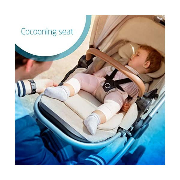 Maxi-Cosi Adorra Baby Pushchair, Comfortable and Lightweight Stroller with Huge Shopping Basket, Suitable from Birth, 0 Months - 3.5 Years, 0-15 kg, Nomad Red Maxi-Cosi Urban stroller, suitable from birth to 15 kg (birth to 3.5 years) Cocooning Seat: The luxury of a large padded seat for the extra comfort of your little one A lightweight stroller less than 12 kg that makes walking effortless 3