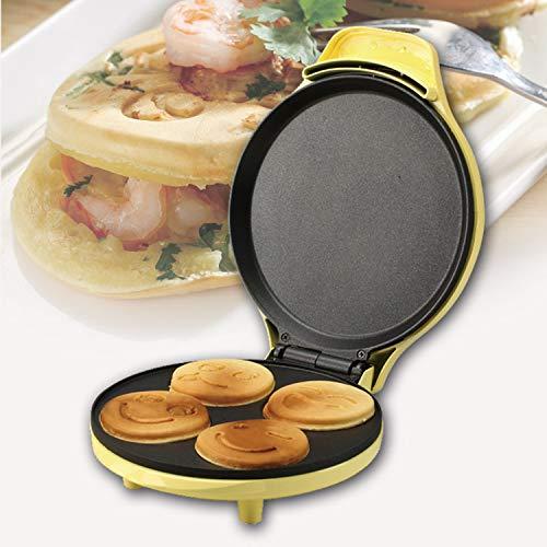 Xcxdx mini macchina per fare i dolci waffle dessert padella per il tempo di cottura della famiglia