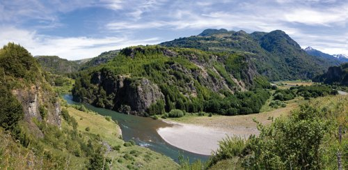 Berlintapete - Wallpaper On Demand - Fototapete - Berge - Panoramen Xxl - Landschaft In Patagonien Nr. 6399