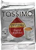 Tassimo Twinings English Breakfast Tea, 16 T-Discs