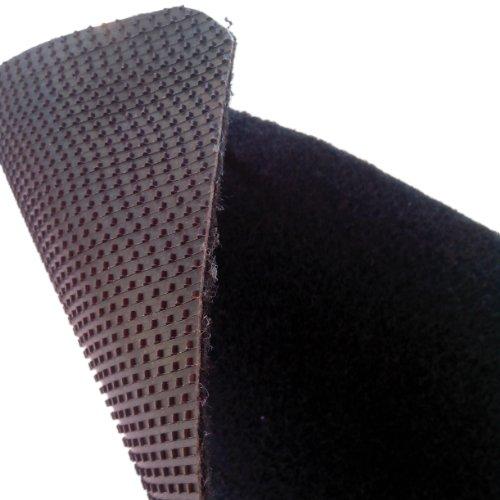 Tappetini-per-Smart-ForTwo-W450-anni-1998-2007-battitacco-in-MOQUETTE-moquette-NERO-bordo-ROSSO-cuciture-ARANCIO-4-scritte-ricamate-col-ROSSO