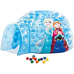 INTEX-Igloo Gonflable Frozen 12Boules-185x 157x 107cm-48670np