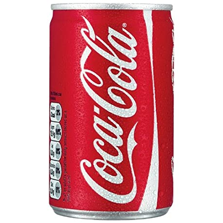 Coca Cola Coke 150ml Mini Can 24 Pack