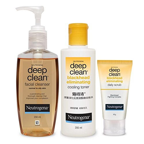 Neutrogena Blackhead Removal Kit (Combo Of 3)