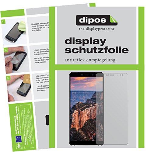 dipos I 2X Schutzfolie matt passend für M-Horse Pure 1 Folie Displayschutzfolie