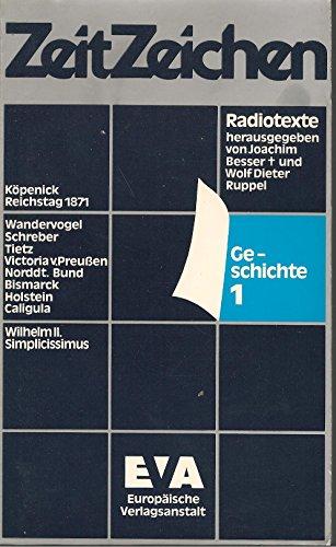 Radiotexte. Geschichte 1