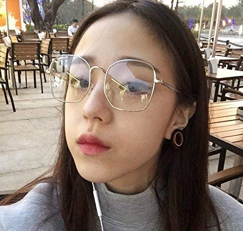 Wiederbelebung Alter Bräuche eine anastigmatische Brille Frau von großen Rahmen Brille Rahmen rundes Gesicht zusammen Stil Brille die Männer und Frauen übernachteten eine Brille dünnes Gesic