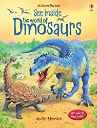 See Inside: The World of Dinosaurs (Usborne Flap Books) (Usborne See Inside)
