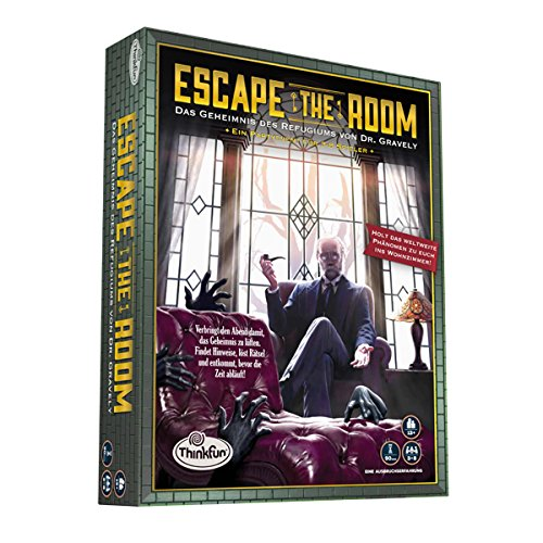 Thinkfun 7352-GER - 'Escape the Room 13+' Familien Strategiespiel