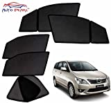 #9: Auto Pearl - Premium Quality Day and Night Magnetic Sun Shades Car Curtain For - All Toyota Innova - Set of 6 Pcs