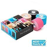 K-Tape Mixed Box of 4 (4 Rollen, à 5cm x 5m)