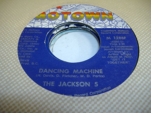 THE JACKSON 5 45 RPM It's Too Late To Change The Time / Dancing Machine (5-dancing Machine Jackson)