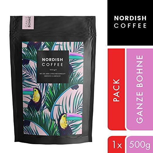 Nordish.Coffee Peruhondas - 500 g Kaffeebohnen - Premium Kaffee ganze Bohnen - Arabica und Hochland - Bio-Anbau und Fair - Schonend und Frisch in kleinen Mengen nahe Hamburg Geröstet
