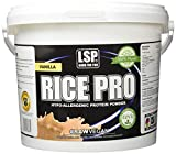 LSP Sports Nutrition Rice Pro, Vanille, 1er Pack (1x 4 kg)