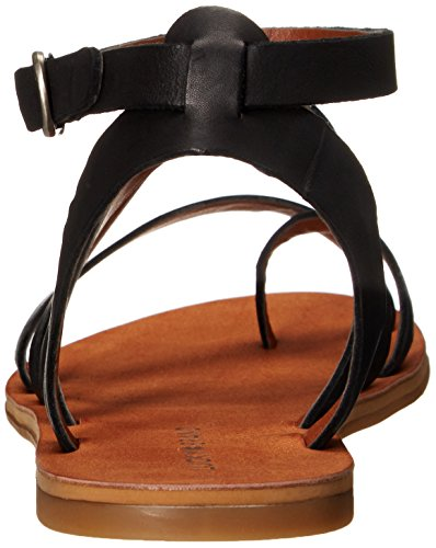 Lucky Brand Aubree Cuir Sandales Gladiateur Black