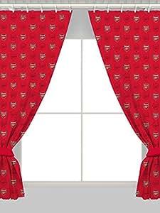 "Arsenal 72"" Drop Curtains Crest Design"