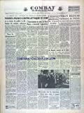 Telecharger Livres COMBAT No 3295 du 04 02 1955 MENDES FRANCE CONTRE ATTAQUE CE SOIR DEBAT SUR L AFRIQUE DU NORD A L ASSEMBLEE L EGYPTE ABANDONNE LA LIGUE ARABE PEKIN REFUSE L INVITATION DE L ONU MONTEIL MINISTRE DE LA SANTE HISTOIRE DE LA VACCINE ET D EDOUARD JENNER MEDECIN DE CAMPAGNE (PDF,EPUB,MOBI) gratuits en Francaise