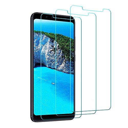Vivicool Protector Pantalla Xiaomi Redmi Note 5, Cristal Templado Xiaomi Redmi Note 5 -Alta Sensibilidad-Arañazos Resistente -Alta Definición -3D Cobertura Completa de Vidrio Templado Xiaomi Redmi Note 5 [3 paquetes]