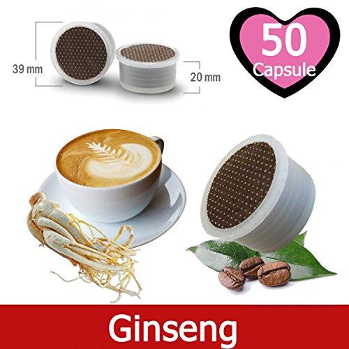 50 Capsulas Café de Ginseng Compatibles Lavazza Espresso Point - Café Kickkick