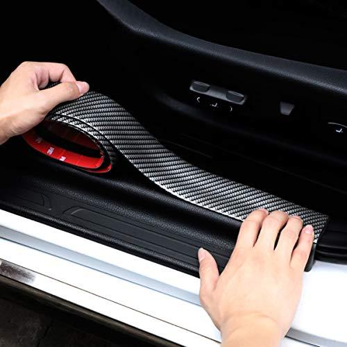 Film de protection peinture pour seuil de chargement Protection d/écran carbone 3D Film carbone 10147/4