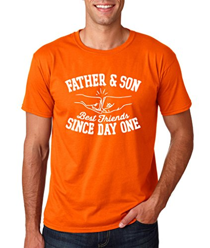 Daataadirect Herren T-Shirt Orange