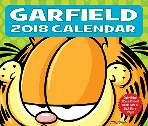 Click for larger image of Garfield 2018: Original BrownTrout-Tagesabreißkalender